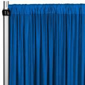 4-Way Stretch Spandex Drape Panel - 10ft Long - Royal Blue