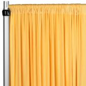 4-Way Stretch Spandex Drape Panel - 12ft Long - Canary Yellow
