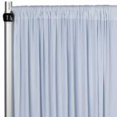 4-Way Stretch Spandex Drape Panel - 12ft Long - Dusty Blue