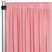 4-Way Stretch Spandex Drape Panel - 12ft Long - Dusty Rose/Mauve
