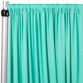 4-Way Stretch Spandex Drape Panel - 12ft Long - Turquoise