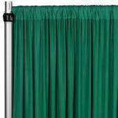4-Way Stretch Spandex Drape Panel - 14ft Long - Emerald Green