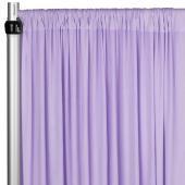 4-Way Stretch Spandex Drape Panel - 14ft Long - Lavender
