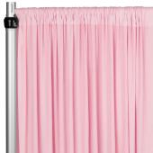 4-Way Stretch Spandex Drape Panel - 14ft Long - Pink