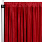 4-Way Stretch Spandex Drape Panel - 14ft Long - Red