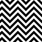 Black and White Chevron Flat Paper