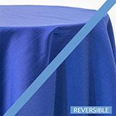 Blueberry - Royal Slub Designer Tablecloth - Many Size Options