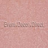Blush - Fancy Leaf Sequin Overlay by Eastern Mills - Many Size Options
