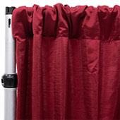 Royal Slub Drape Panel - 100% Polyester - Brick