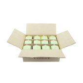 "DecoStar™ Fresh Green 2.75"" x 5"" Square Pillar Candle - Case Of 12"