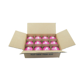 "DecoStar™ Berry 3"" x 3"" Round Pillar Candle - Case Of 12"