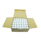 DecoStar™ White 6 Hr Disposable Tealight Candle - Box Of 126