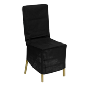 DecoStar™ Chiavari Chair Dust Cover - Black