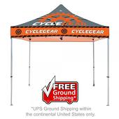 10 ft. Casita Canopy Tent - Steel - Full-Color UV Print Graphic Package