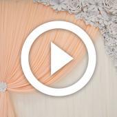 Ceremony Floral Backdrop - Instructional Video