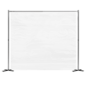 Clear Portable Isolation Walls for Waiting Rooms, Salons and more - Customization Available