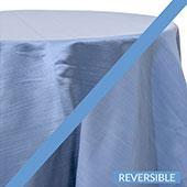 Cloud - Royal Slub Designer Tablecloth - Many Size Options