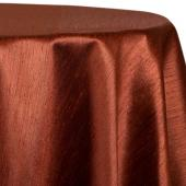 "Copper - Shantung Satin ""Capri"" Tablecloth - Many Size Options"