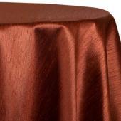 "Copper - Shantung Satin ""Capri"" Tablecloth - Many Size Options"