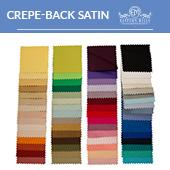 "Crepe-back Satin - 100% Polyester - By The Yard -58-60"" Width"