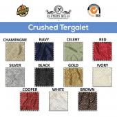 "Extra Wide Crushed Taffeta ""Tergalet"" by the Yard - 9ft Wide - Choice Colors"