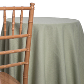 Celery - Designer Heavy Avila Linen Broad Tablecloth by Eastern Mills - Many Size Options
