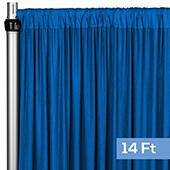 4-Way Stretch Spandex Drape Panel - 14ft Long - Royal Blue
