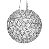 DecoStar™ Acrylic Crystal Hanging Globe Light
