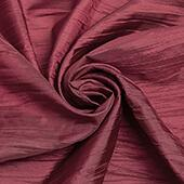 "Accordion Crushed Taffeta - 10 Yard Bolt x 54"" Wide - Burgundy"