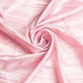 "Accordion Crushed Taffeta - 10 Yard Bolt x 54"" Wide - Pink"