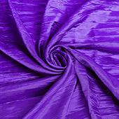 "Accordion Crushed Taffeta - 10 Yard Bolt x 54"" Wide - Purple"