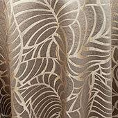"Gold Amazonia Curtain Panel w/ 4"" Rod Pocket - 116"" Wide - Many Size Options"