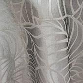 "Silver Amazonia Curtain Panel w/ 4"" Rod Pocket - 116"" Wide - Many Size Options"