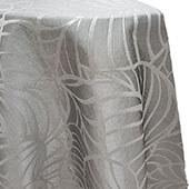 Amazonia Reversible Tablecloth by Eastern Mills - Silver - Many Size Options