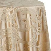 Metallic Aurora Tablecloth by Eastern Mills - Gold - Many Size Options