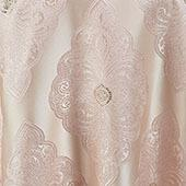 """Blush Royal Belle Curtain Panel w/ 4"""" Rod Pocket - 110"""" Wide - Many Size Options"""