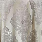 """Silver Royal Belle Curtain Panel w/ 4"""" Rod Pocket - 110"""" Wide - Many Size Options"""