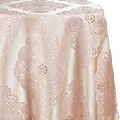 Royal Belle Tablecloth by Eastern Mills - Blush - Many Size Options