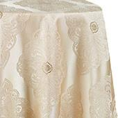 Royal Belle Tablecloth by Eastern Mills - Ivory - Many Size Options