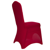 200 GSM Grade A Quality Spandex (Lycra) Banquet & Wedding Chair Cover By Eastern Mills in Apple Red Color