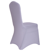 200 GSM Grade A Quality Spandex (Lycra) Banquet & Wedding Chair Cover By Eastern Mills in Silver Color
