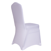 200 GSM Grade A Quality Spandex (Lycra) Banquet & Wedding Chair Cover By Eastern Mills in White Color