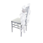 DecoStar™ Chair Tutu -10 Pack - White