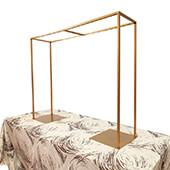 DecoStar™ Long Metal Collapsing Frame for Limitless Decor Options - Soft Matte Gold