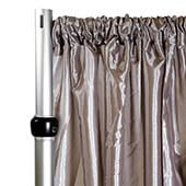 *FR* Crushed Taffeta Drape Panel by Eastern Mills 9 1/2 FT Wide w/ 4