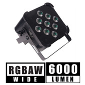 5 in 1 DMX Flat LED Light