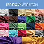 "*IFR* 60"" Wide Poly Stretch Cloth by the Yard"