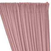 ITY Stretch Drape w/ Sewn Rod Pocket - Blush