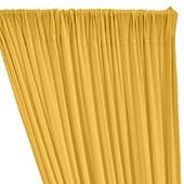 ITY Stretch Drape w/ Sewn Rod Pocket - Gold