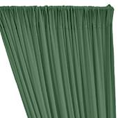 ITY Stretch Drape w/ Sewn Rod Pocket - Green